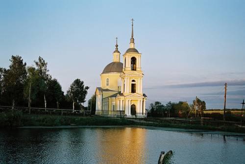 Освящение храма в никольском скиту дивеевского монастыря